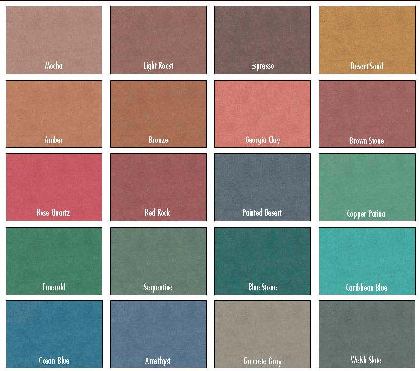 Polished Concrete Coloring Floors